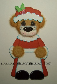 Mrs Clause Tear Bear