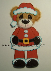 Mr Clause Tear Bear