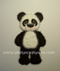 Pandie the Panda Bear Standing