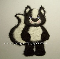 Sidney the Skunk New Design Standing