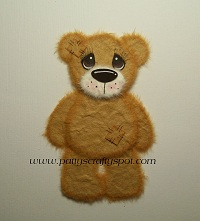 Tattered Teddy Facing