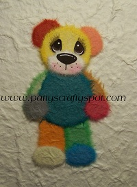Scraps Tear Bear