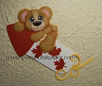 Cutie Tear Bear Canada on Firecracker