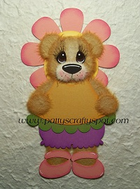 Tear Bear in Flower Costume