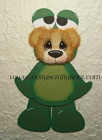 Tear Bear in Frog Costume