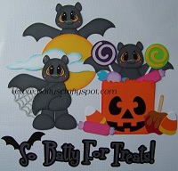 So Batty for Treats Halloween Bats