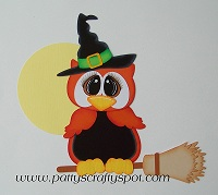 Owl Witch Paper Piecing