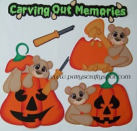 Carving Out Memories Bears Paper Piecing