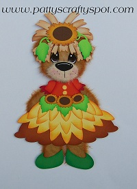 Tear Bear Fall Rag Doll