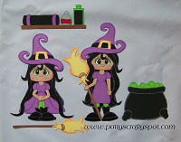 Double Trouble Witches