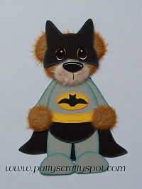 Bat Man Tear Bear