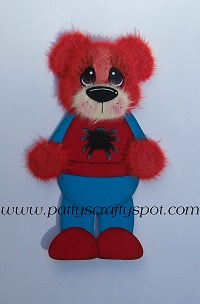 Spiderman Tear Bear