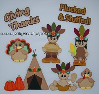Thanksgiving Indian Kids Set