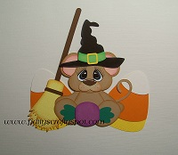 Halloween Witch Mouse