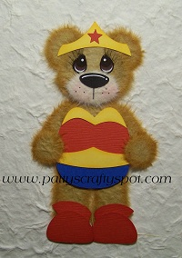 Wonder Woman Tear Bear