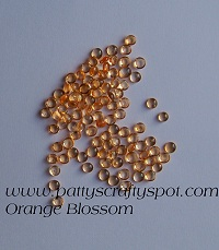 Rain Drops Orange Blossom 5mm