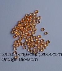 Rain Drops Orange Blossom 5mm