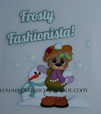 Frosty Fashionista Bear