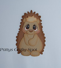 Tiny Treasures Hedgehog