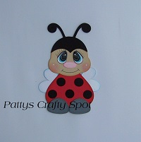 Tiny Treasures Ladybug