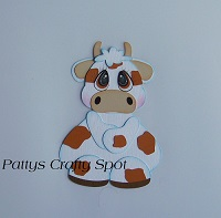 Tiny Treasures Cow