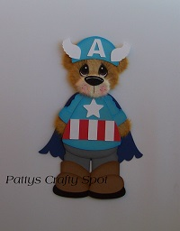 Captain America Tear Bear