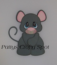 Tiny Treasures Gray Mouse