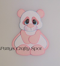 Tiny Treasures Pink Panda