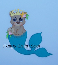 Tiny Treasures Mermaid Bear