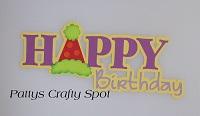 Happy Birthday - Title