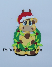 Tiny Treasures Christmas Giraffe