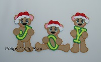 JOY Christmas Bears