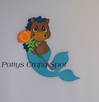 Tiny Treasures Seahorse Mermaid
