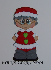 Bobble Buddies Mrs Clause