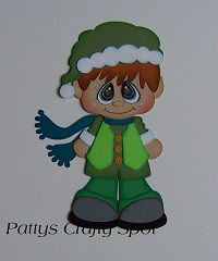 Bobble Buddies Elf Boy