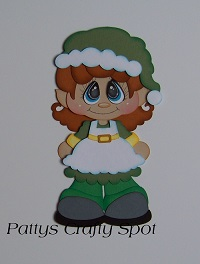 Bobble Buddies Elf Girl