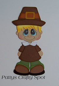 Bobble Buddies Pilgrim Boy
