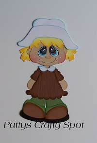 Bobble Buddies Pilgrim Girl