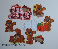 Nutz About Fall Squirrels
