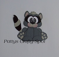 Tiny Treasures Raccoon