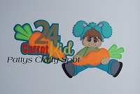 24 Carrot Kid Boy Easter