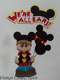 Were All Ears Disney Mickey Mouse Boy