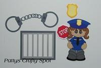 Girl Police Set
