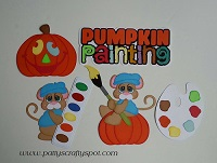 Pumpkin Painting Mice