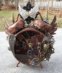 Octopus Steampunk Clock by Pattys Crafty Spot