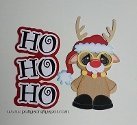 HO HO HO Reindeer