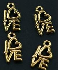 Gold Love Charm