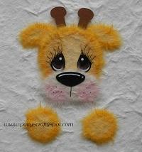 Giraffe Peeker