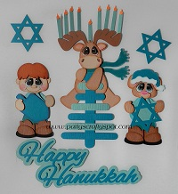 Hanukkah Moose, Mouse and Boy