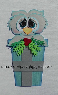 Christmas Snow Owl